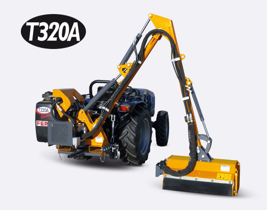 Hydraulic reach mowers T250A