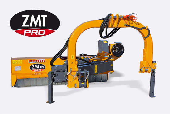 New Offset/in line mulcher ZMT PRO